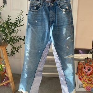 NWT Zara Boyfriend Jeans